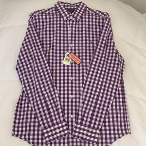 Men's New Vineyard Vines Gingham Dress Shirt